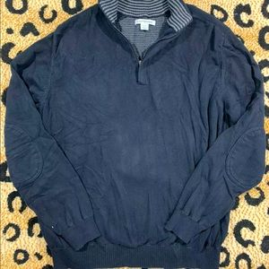 Cutter & Buck Collared Sweater with Elbow Patches